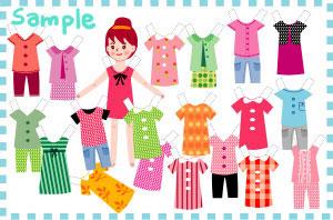 Bestie Paper Doll Download Free